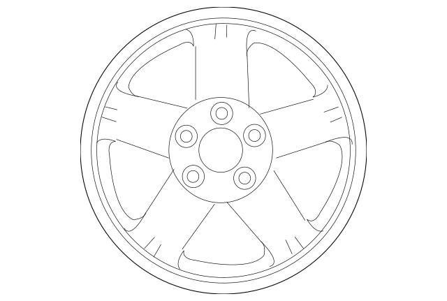Genuine OEM Wheel, Steel Part# 4250C409 Fits 2012-2018