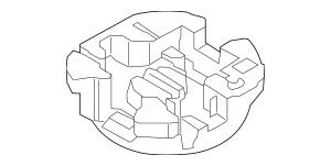 2010-2013 Kia Soul Tool Compartment 09149-2K100