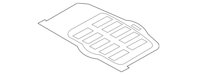 Genuine OEM Floor Mat Part# 85720-2K000WK Fits 2010-2013