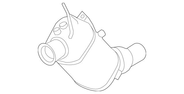 2014-2018 BMW Diesel Particulate Filter 18-30-8-583-372
