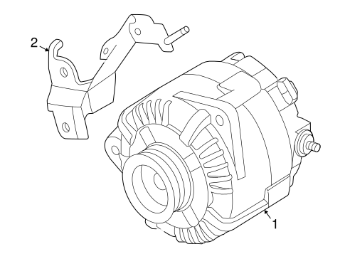 ALTERNATOR for 2007 Nissan Altima