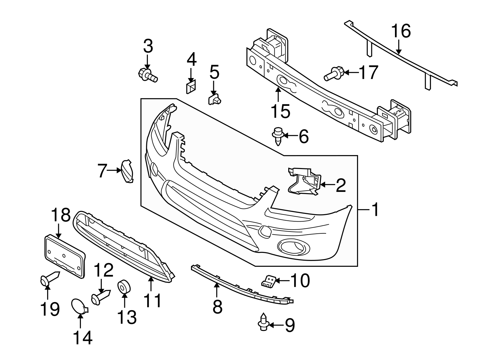 Oem New Genuine Ford Transit Connect Lower