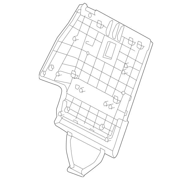 2013-2018 Hyundai Seat Back Panel 89440-4Z200-RYN