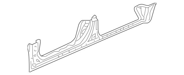 2006-2014 Honda RIDGELINE SEDAN Panel, R Side Sill 04631