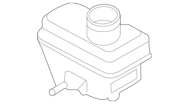 Ford Master Cylinder Reservoir (5L8Z-2L454-BA) For Sale