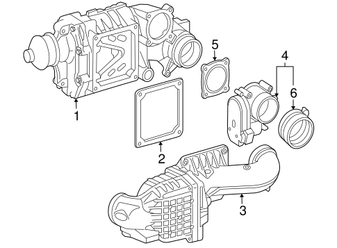 Gaskets & Sealing Systems for 2004 Mercedes-Benz C 230