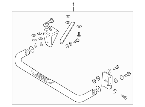 1998 Ford Ranger Exhaust System Diagram
