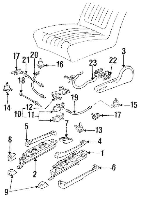 TRACKS & COMPONENTS for 2001 Pontiac Firebird