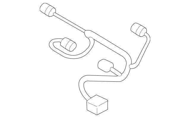 2015-2016 Hyundai Genesis Wire Harness 39610-3C750