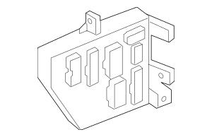 Genuine OEM Junction Block Part# 91950-2K163 Fits 2012