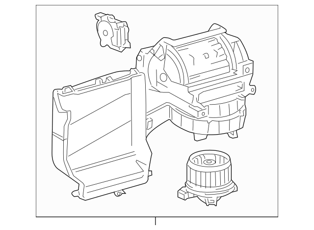 2007-2018 Toyota Tundra Blower Assembly 87130-0C070