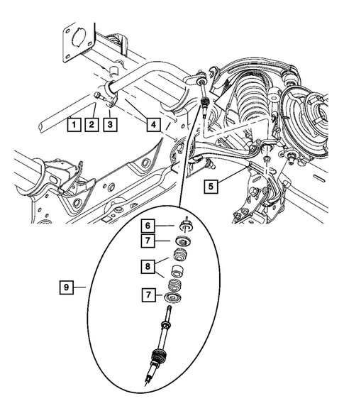 Dodge Dakota Front Suspension Diagram : dodge, dakota, front, suspension, diagram, Front, Suspension, Dodge, Dakota, Thomas, Parts