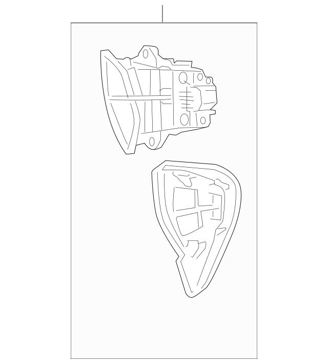 2010-2014 Honda INSIGHT Lid Assembly, Navigation Switch