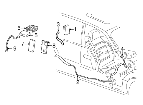 Electrical Components for 2003 Cadillac DeVille