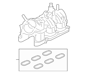 Buy this Genuine 2015-2019 Ford Intake Manifold FT4Z-9424