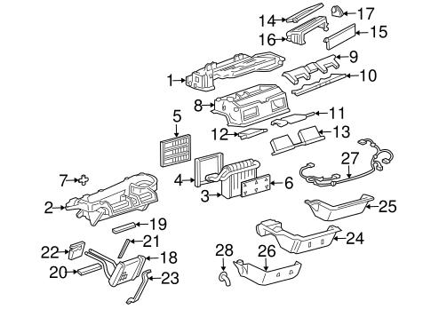 BLOWER MOTOR & FAN Parts for 2004 Buick Park Avenue
