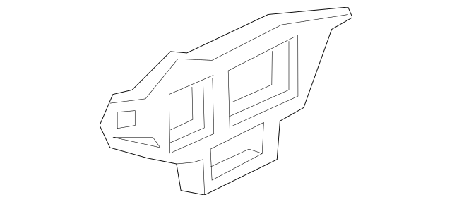 2011-2014 Volkswagen Jetta Side Retainer 5C6-807-183