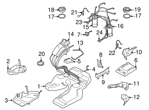 Fuel Pumps & Related Components for 2006 Porsche Cayenne