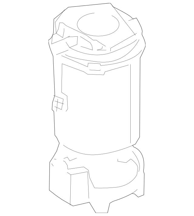 2008-2010 Porsche Cayenne Fuel Pump Assembly 955-620-131