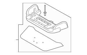 Genuine OEM 2013-2014 Ford Focus Adjuster DM5Z-5860434-D