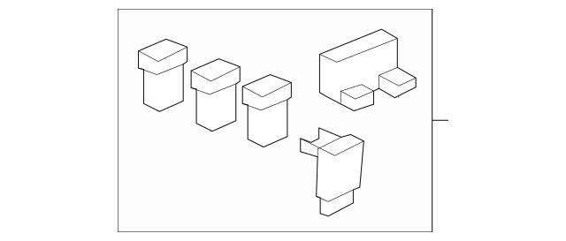 2003-2010 Honda Fuse B, Multi Block (50A/50A) 38232-SDA