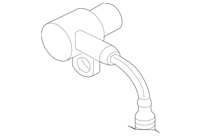 1997-1999 Jaguar Crankshaft Position Sensor LCA1640AE