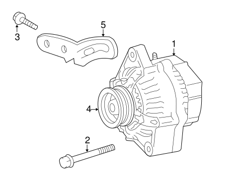 Alternator for 2012 Toyota Yaris