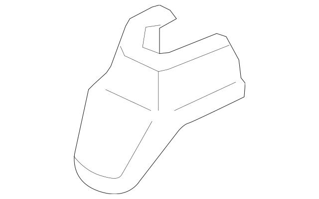 Genuine 2007-2008 Honda FIT 5-DOOR Cover, L Front Foot