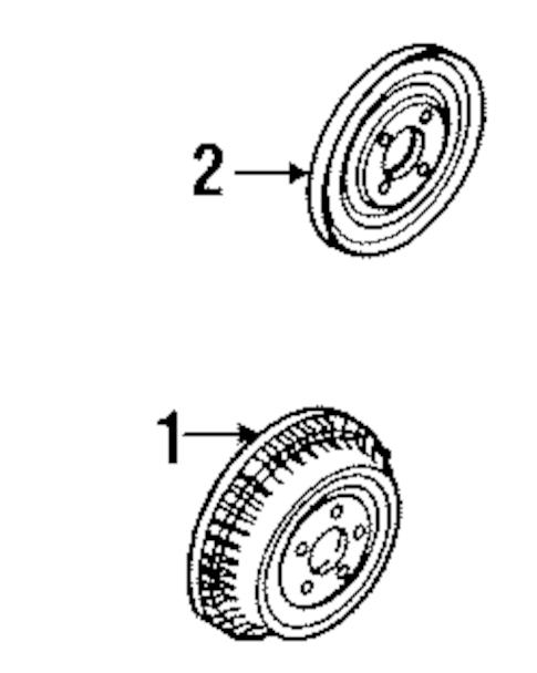 Rear Brakes for 1993 Buick Roadmaster (Estate Wagon