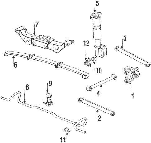 1994 Oldsmobile Cutl Ciera Engine Diagram / 1996