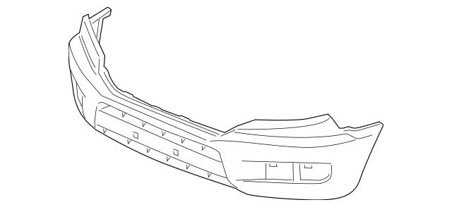 2009-2014 Honda RIDGELINE SEDAN Face, Front Bumper (DOT