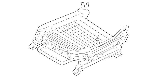 2009-2012 Hyundai Elantra Seat Track 88501-2L560