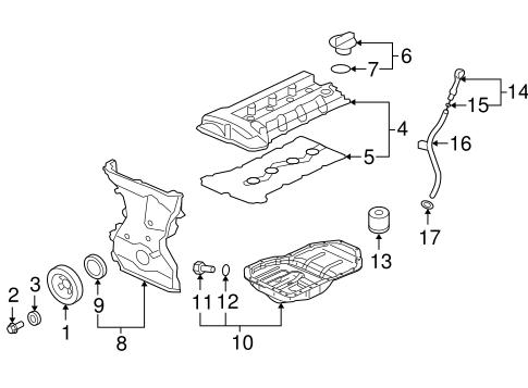 Engine Parts for 2015 Mitsubishi Lancer Evolution GSR