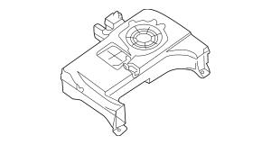 2004-2015 Nissan Titan Inst Panel Speaker 28154-8S200