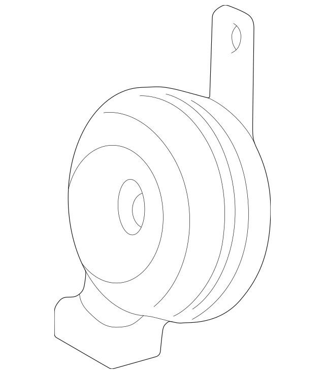 Air Horn Diaphragm Without Springs