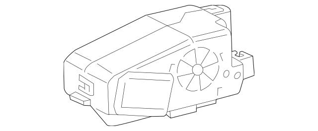 Volkswagen Ignition Immobilizer Module (4H0-905-852-B