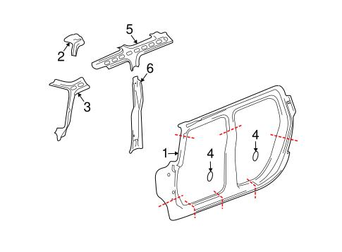 UNISIDE Parts for 2003 Hummer H2
