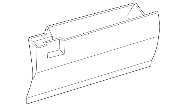 2007-2008 Scion tC Glove Box Assembly 55550-21030-B0