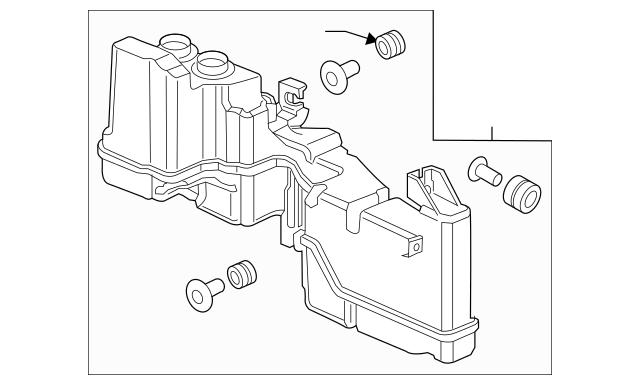 2016-2017 Honda Chamber Assembly, Resonator 17230-5BA-A00