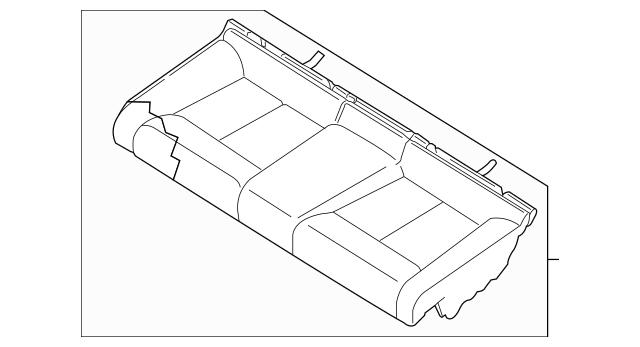 2013-2018 Nissan Altima Seat Cushion Pad 88305-3TA0A