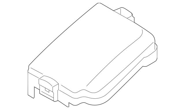 Buy this Genuine 2014-2015 Kia Fuse Box Cover 91950-A7710