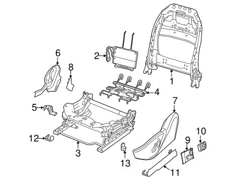POWER SEATS for 2013 Dodge Dart