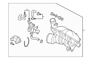 2009-2015 Audi TT Quattro Turbocharger 06F-145-702-CX