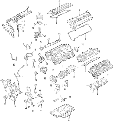 97 ford taurus sho engine diagram