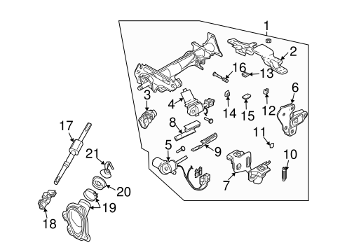 Service manual [Steering Column Assembly For 2008 Infiniti
