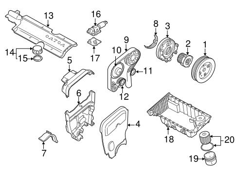 1999 Volvo S80 Engine Diagram / 2002 Volvo S80 Engine