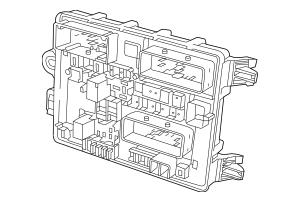 2014 Chevrolet Caprice Fuse & Relay Box 92273184