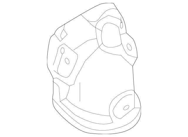 2015-2019 Hyundai Sonata Catalytic Converter Heat Shield