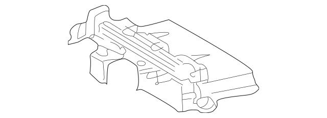 2001-2009 Mercedes-Benz Fuse & Relay Box 203-545-47-01-80