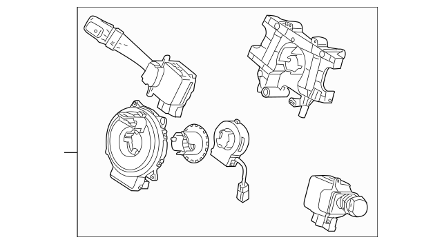 2005-2010 Kia Sportage Multi-Function Switch 93401-1F021